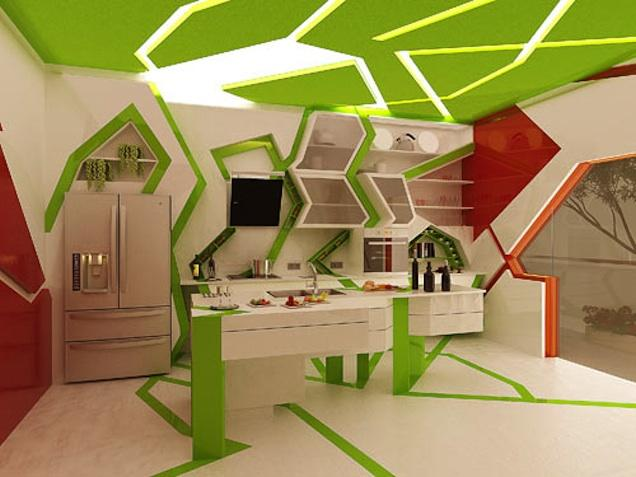 Wild And Wacky Kitchens Cubist