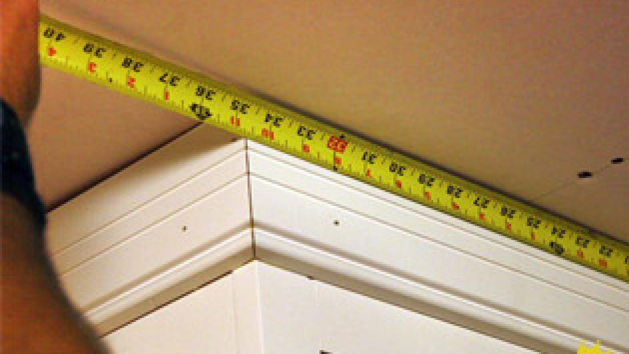 Install Crown Molding On Kitchen Cabinets