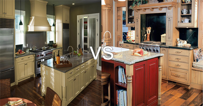 Pleasant Painted Vs Stained Cabinets Which Is Best Kitchen Download Free Architecture Designs Scobabritishbridgeorg