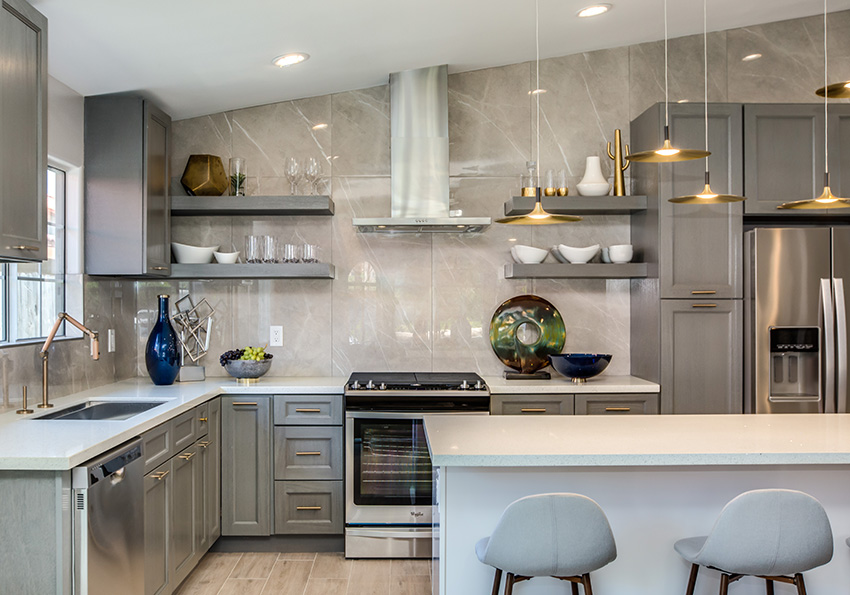 Midtown Gray Cabinets